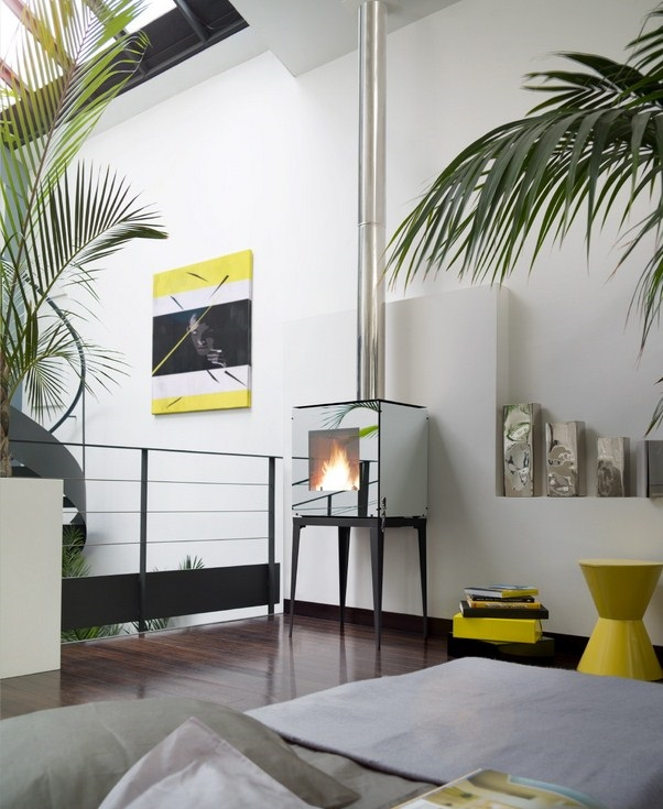 po le bois invicta r va etanche 5 kw. Black Bedroom Furniture Sets. Home Design Ideas
