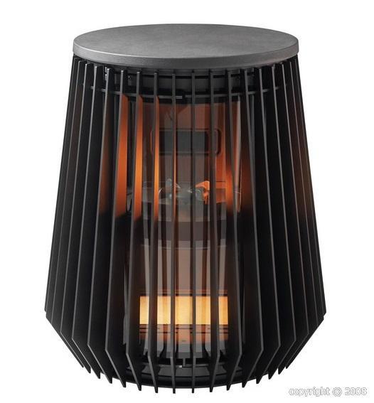 po le bois invicta ilot etanche 8 kw. Black Bedroom Furniture Sets. Home Design Ideas