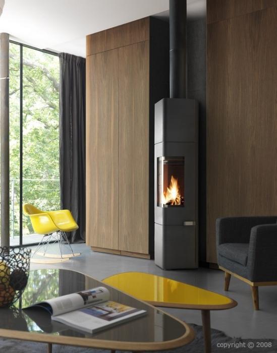 po le bois invicta mana etanche 8 kw. Black Bedroom Furniture Sets. Home Design Ideas
