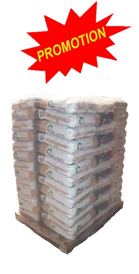 144b7db2822c2 Granulés de bois Premium DIN+/EN+ ERDA en palette de 65 sacs de 15 kg. -  PELLETS ERDA